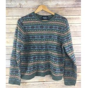 Eddie Bauer Collectibles Sweater 100% Lambswool